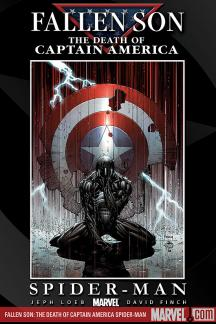 Civil War: Fallen Son - The Death of Captain America #4  (Variant)
