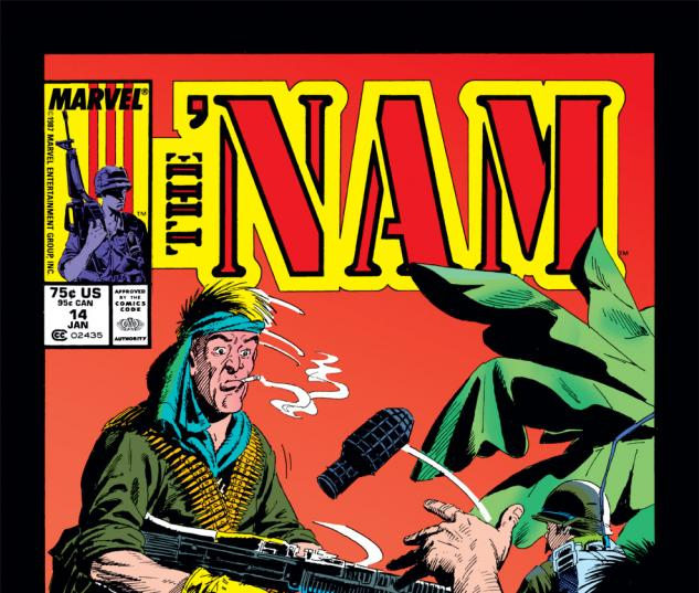 The 'Nam (1986) #14 Cover