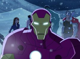 Iron Man leads his team in Marvel's Avengers Assemble