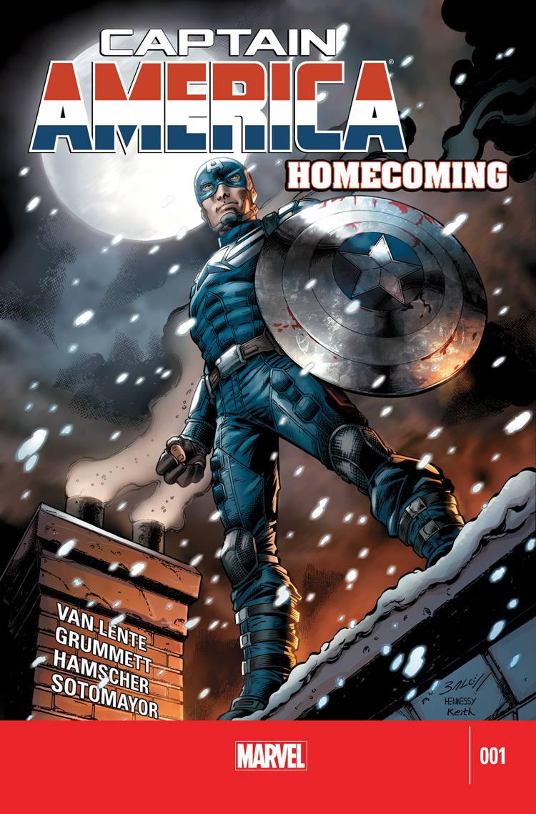Captain America: Homecoming (2014) #1
