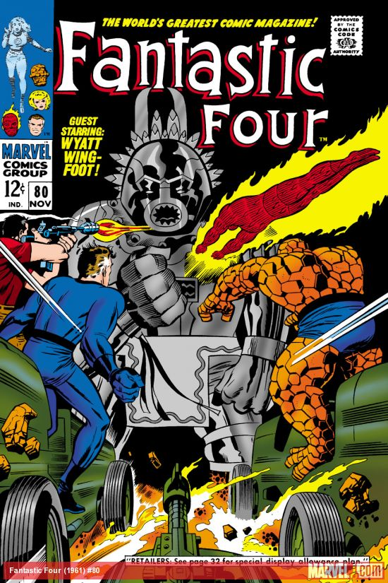 Fantastic Four (1961) #80