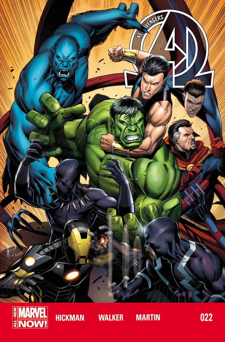New Avengers (2013) #22