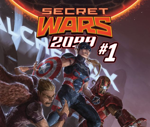 SECRET WARS 2099 1 (SW, WITH DIGITAL CODE)