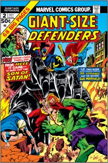 Giant-Size Defenders #2