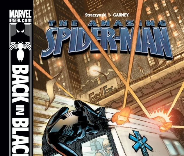 AMAZING SPIDER-MAN (1999) #540 Cover
