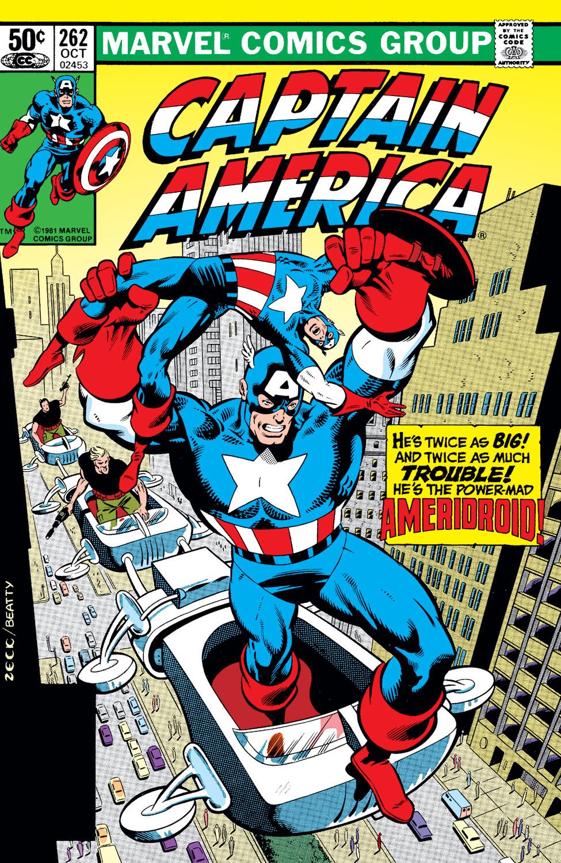 Captain America (1968) #262