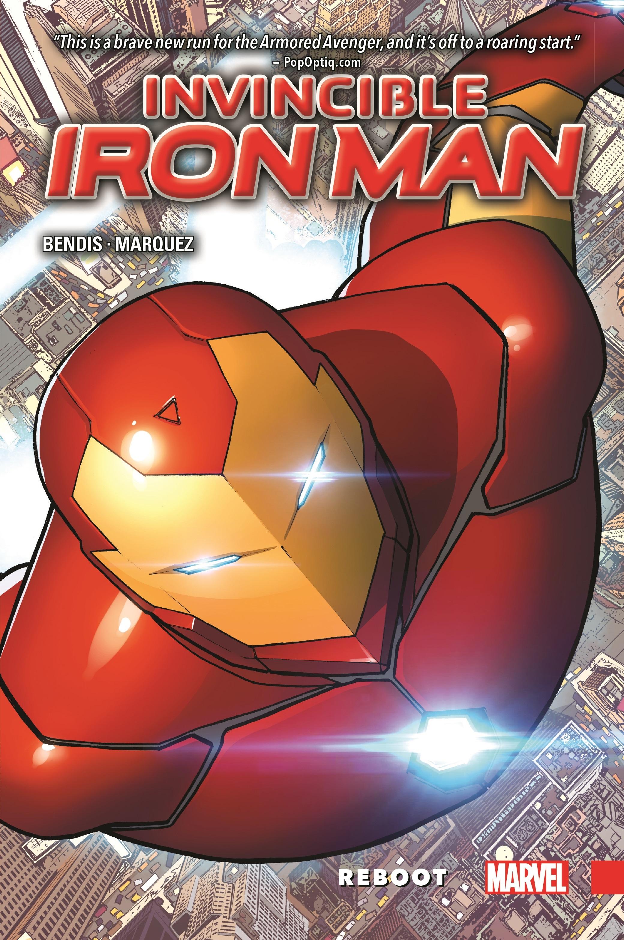 Invincible Iron Man Vol. 1: Reboot (Hardcover)