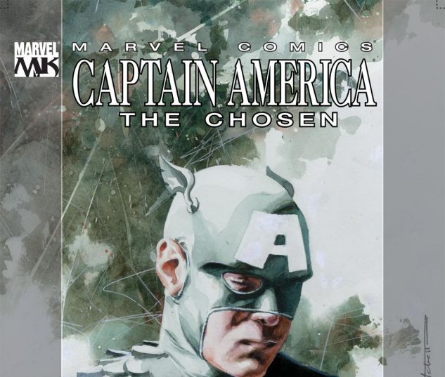 CAPTAIN AMERICA: THE CHOSEN (2007) #2 Cover