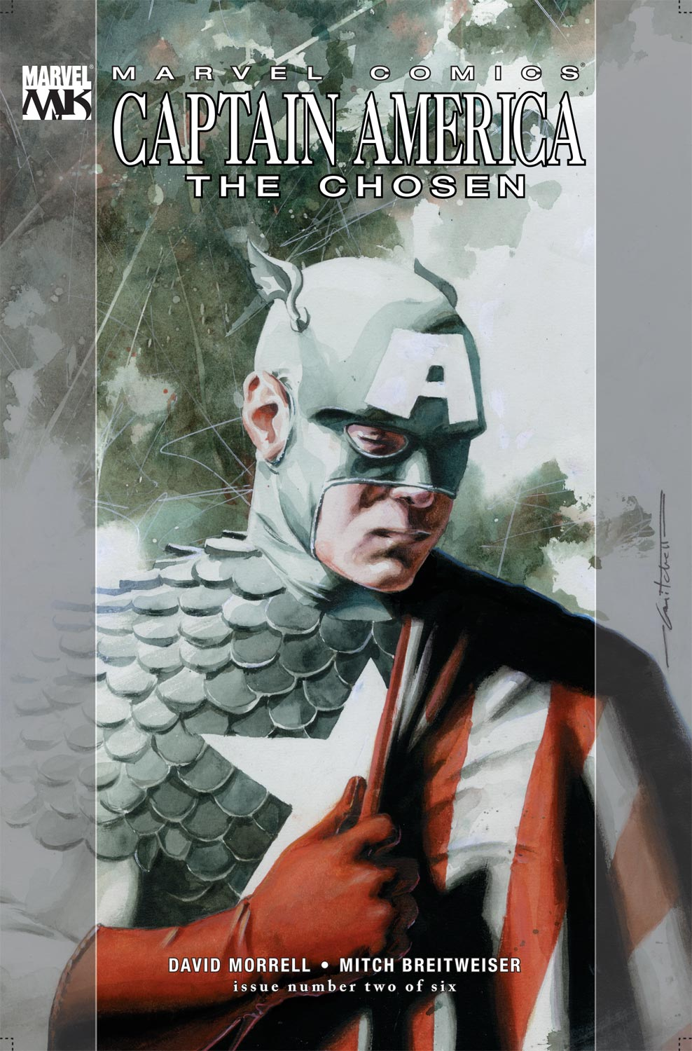 Captain America: The Chosen (2007) #2