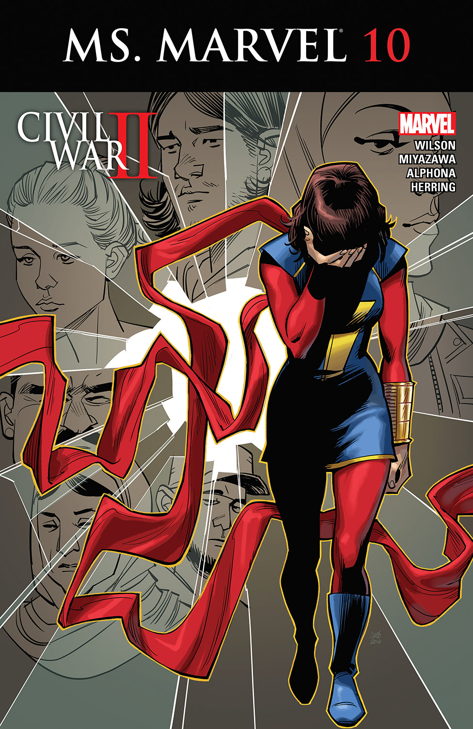 Ms. Marvel (2015) #10