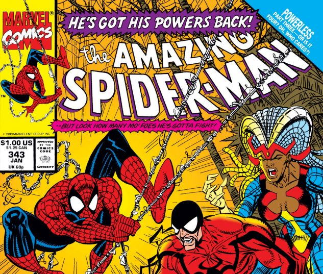 Amazing Spider-Man (1963) #343