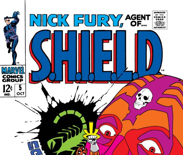 Nick Fury, Agent of Shield (1968) #5