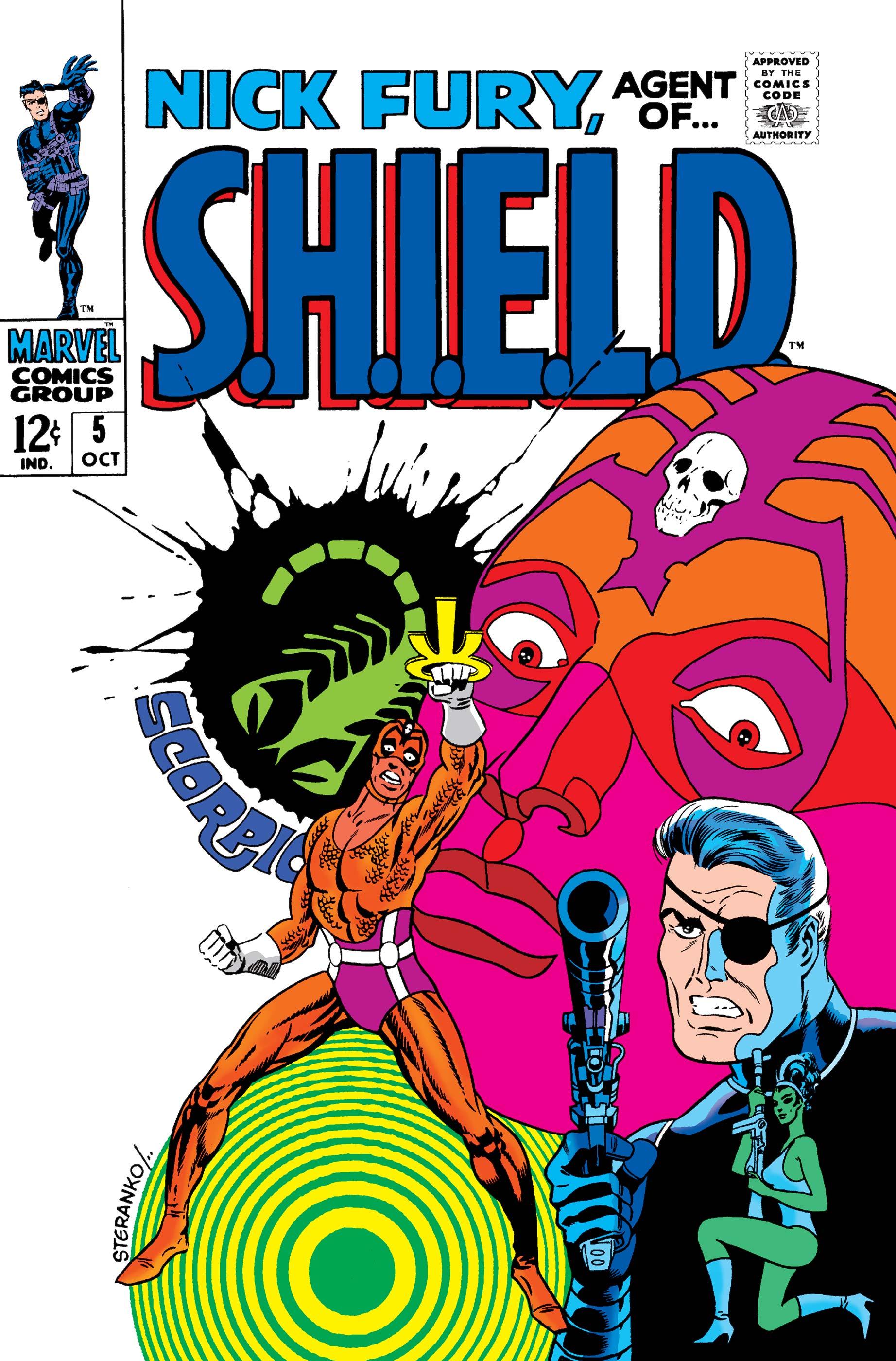 Nick Fury, Agent of S.H.I.E.L.D. (1968) #5