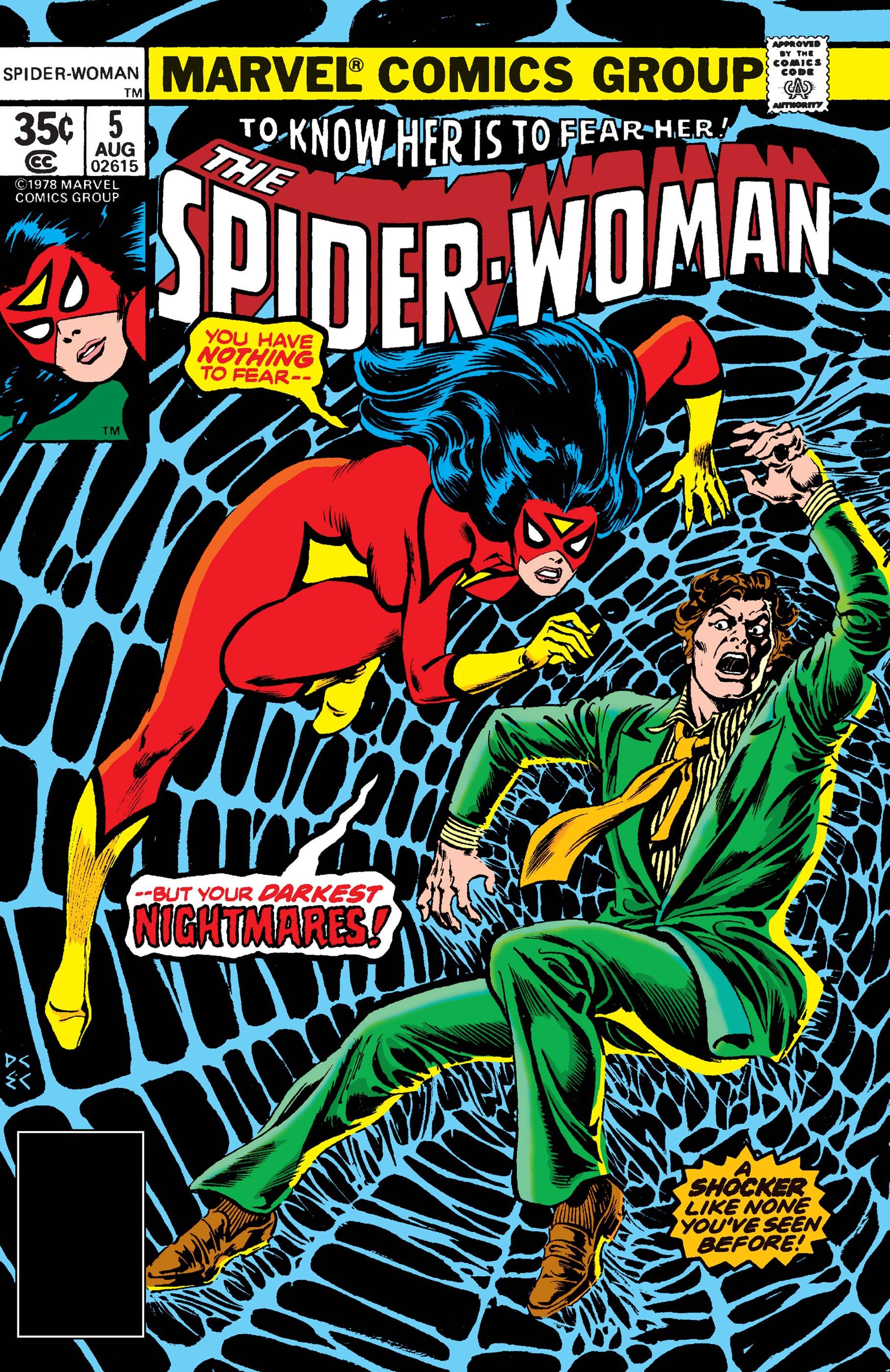 Spider-Woman (1978) #5