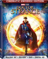 Doctor Strange on 3D Blu-ray