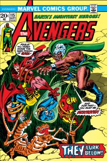 Avengers (1963) #115