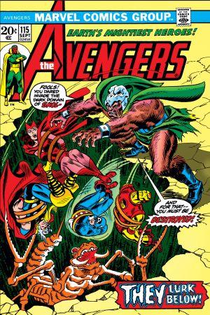 Avengers #115