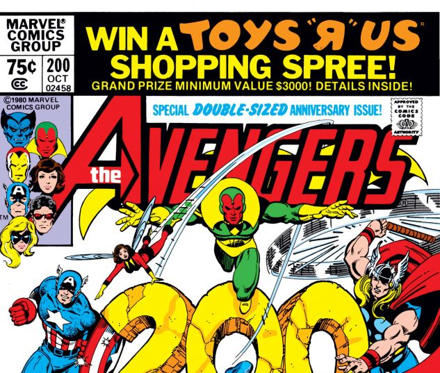 Avengers (1963) #200