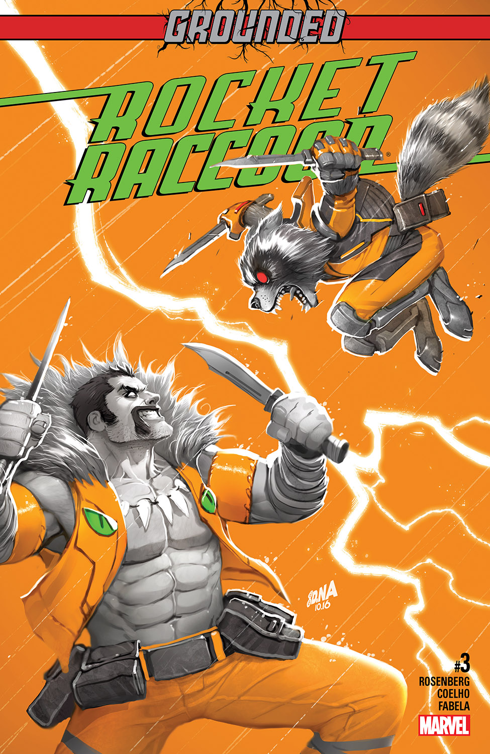 Rocket Raccoon (2016) #3