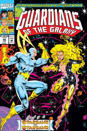 Guardians of the Galaxy (1990) #45