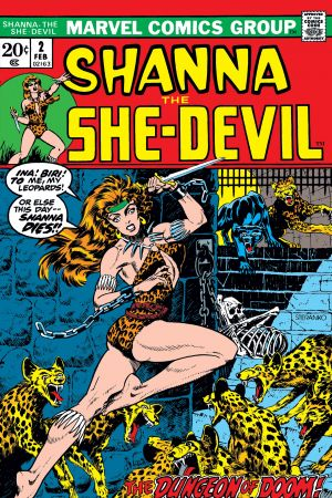 Shanna the She-Devil (1972) #2