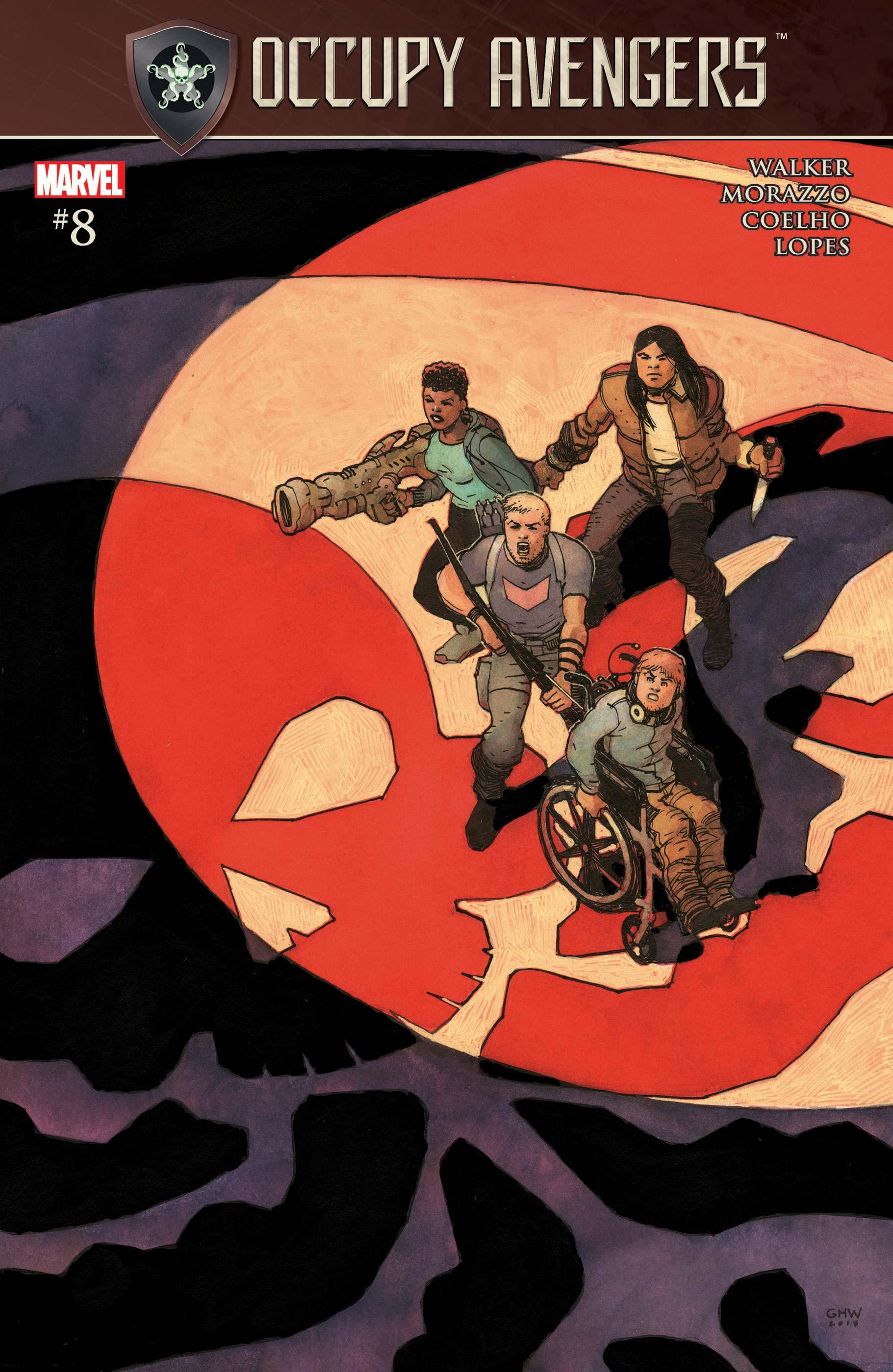 Occupy Avengers (2016) #8