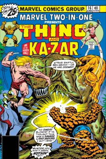 Marvel Two-in-One (1974) #16