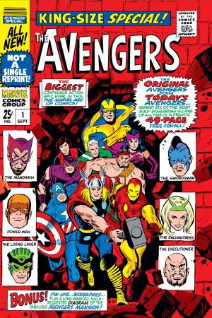 Avengers Annual (1967) #1