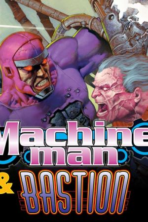 Machine Man/Bastion Annual (1998)