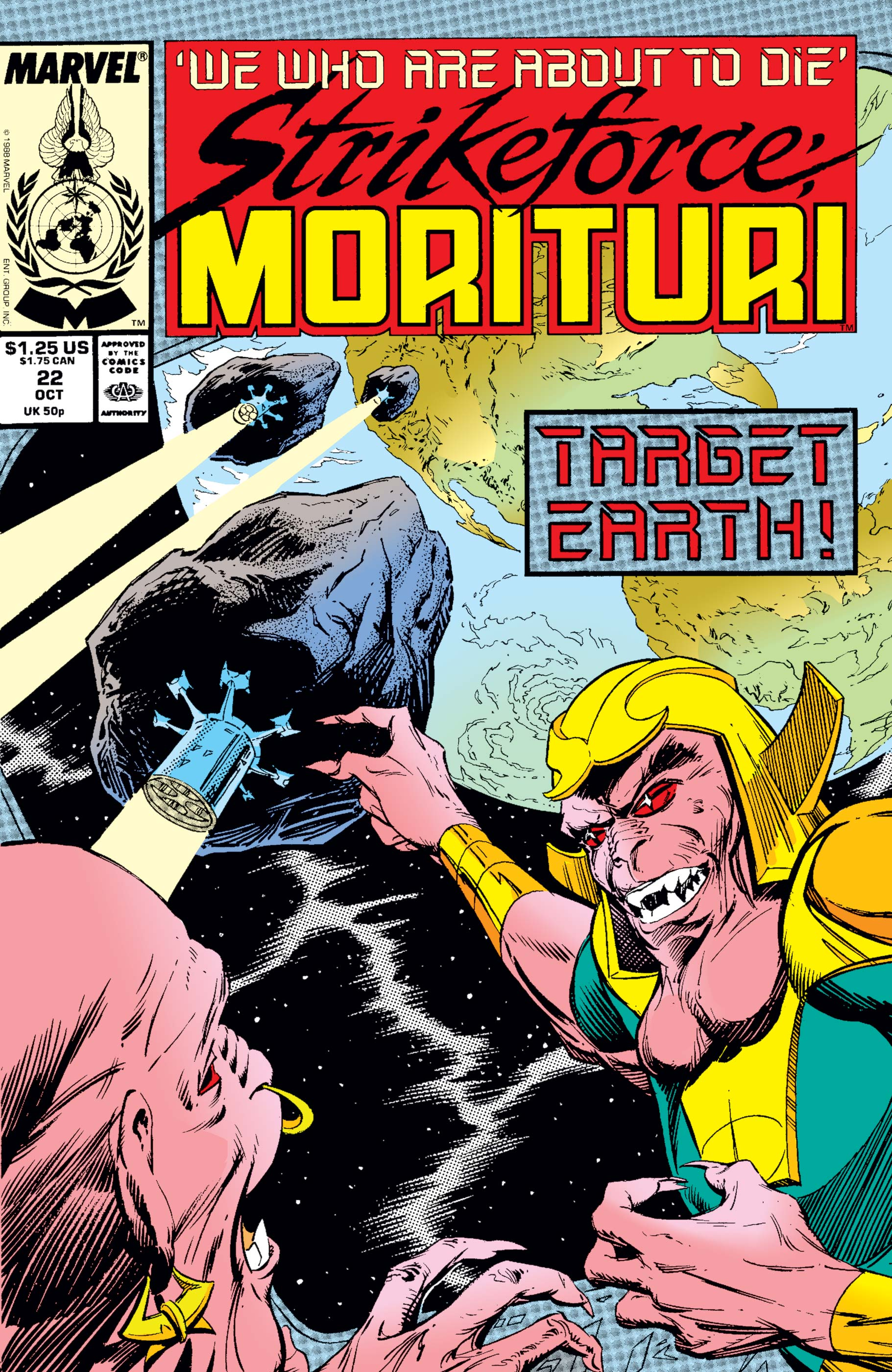 Strikeforce: Morituri (1986) #22