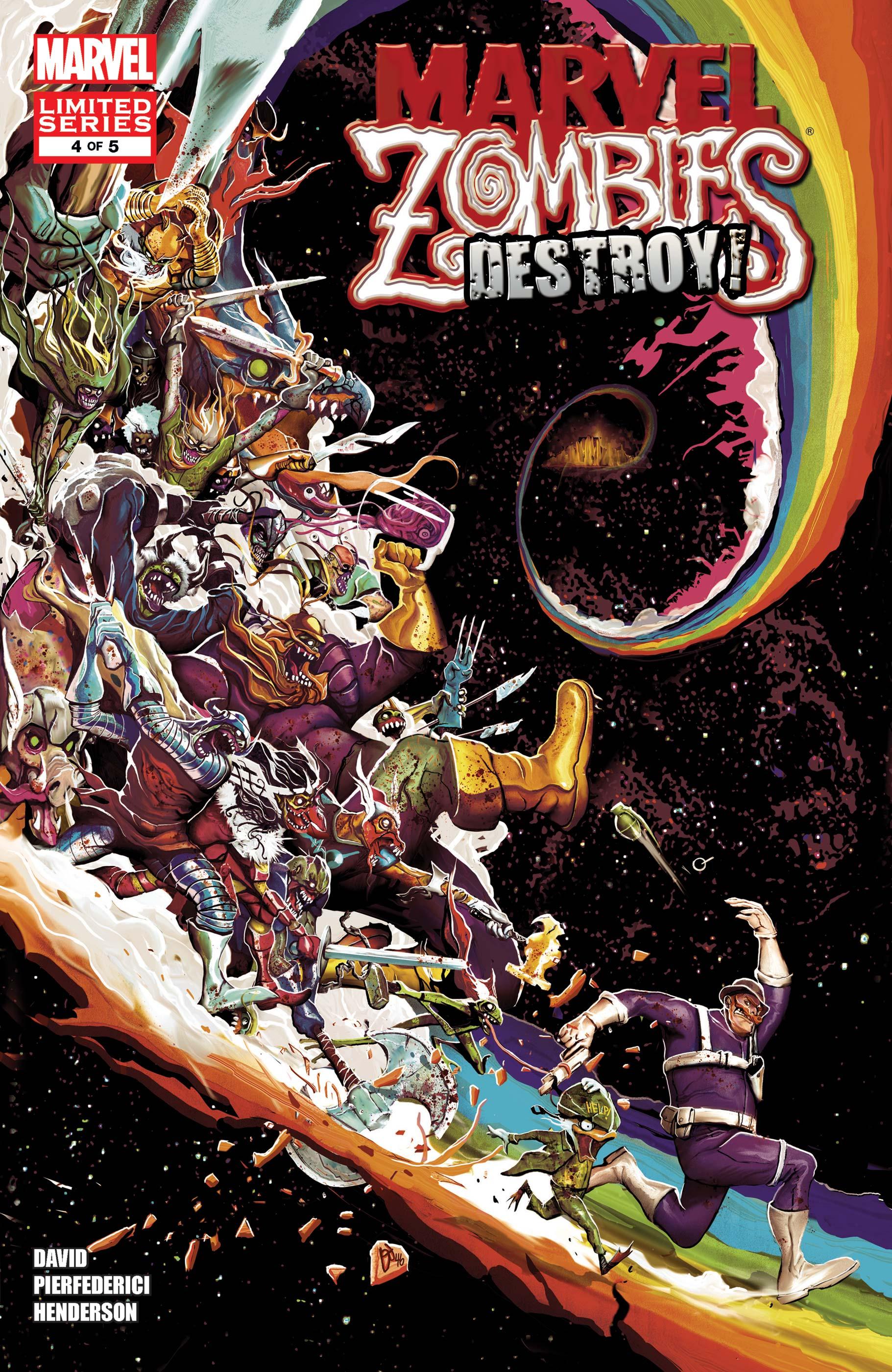 Marvel Zombies Destroy! (2011) #4