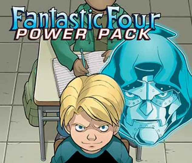 cover from Fantastic Four and Power Pack Infinite Comic (2018) #7