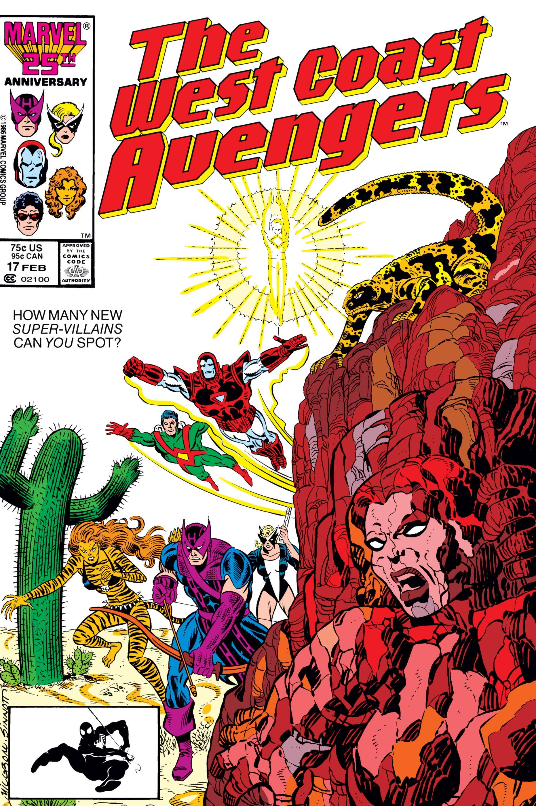 West Coast Avengers (1985) #17