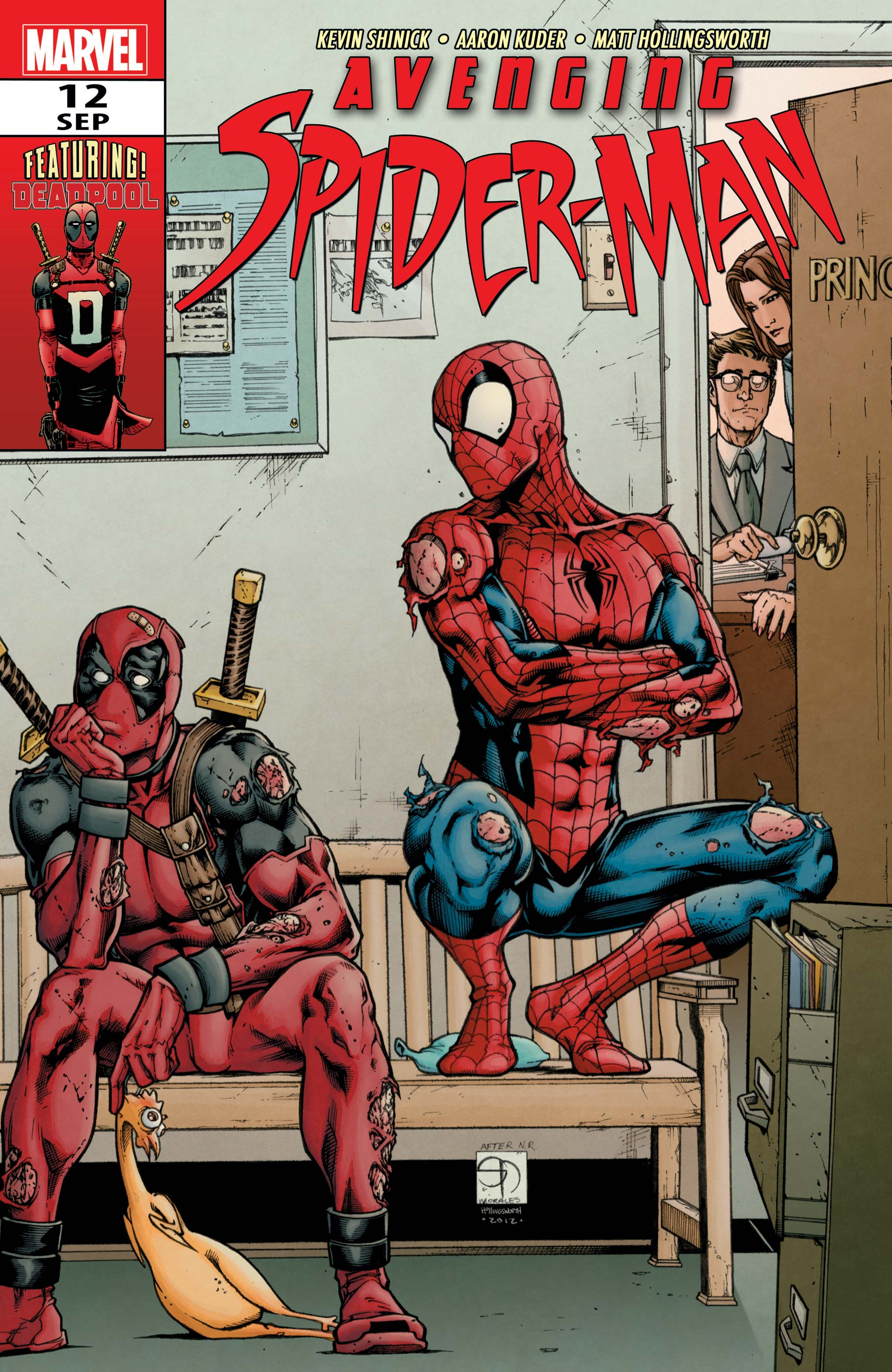 Avenging Spider-Man (2011) #12