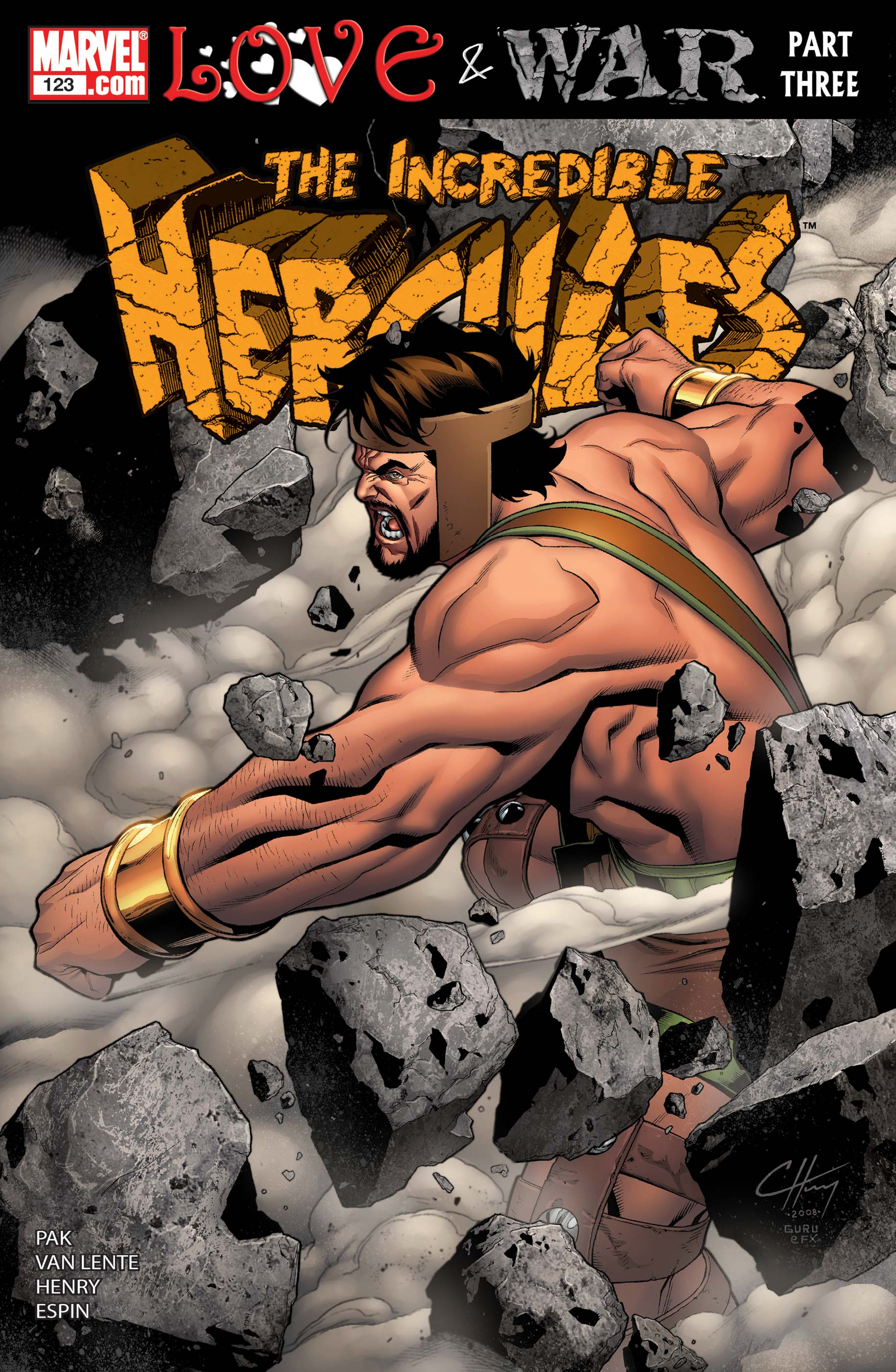 Incredible Hercules (2008) #123