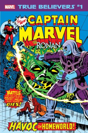 True Believers: Captain Marvel Vs. Ronan #1