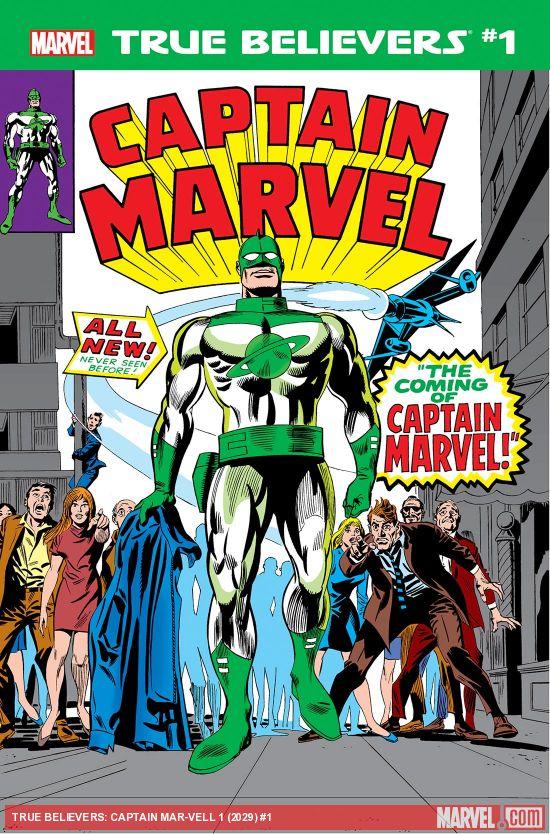 True Believers: Captain Mar-Vell (2019) #1