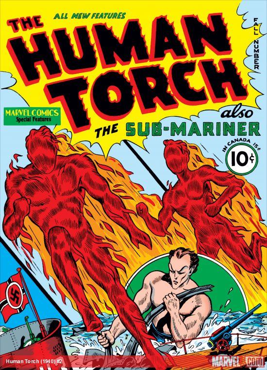 Human Torch Comics (1940) #2