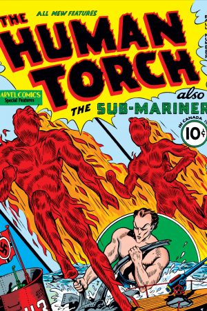 Human Torch Comics #2