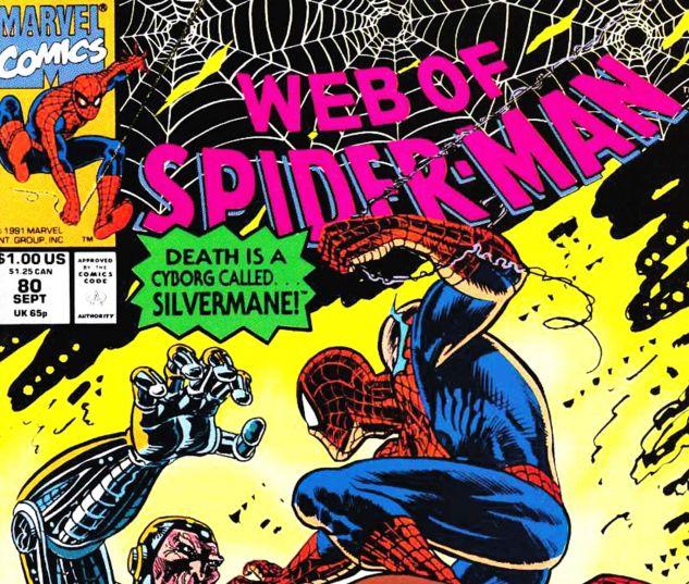 Web of Spider-Man (1985) #80