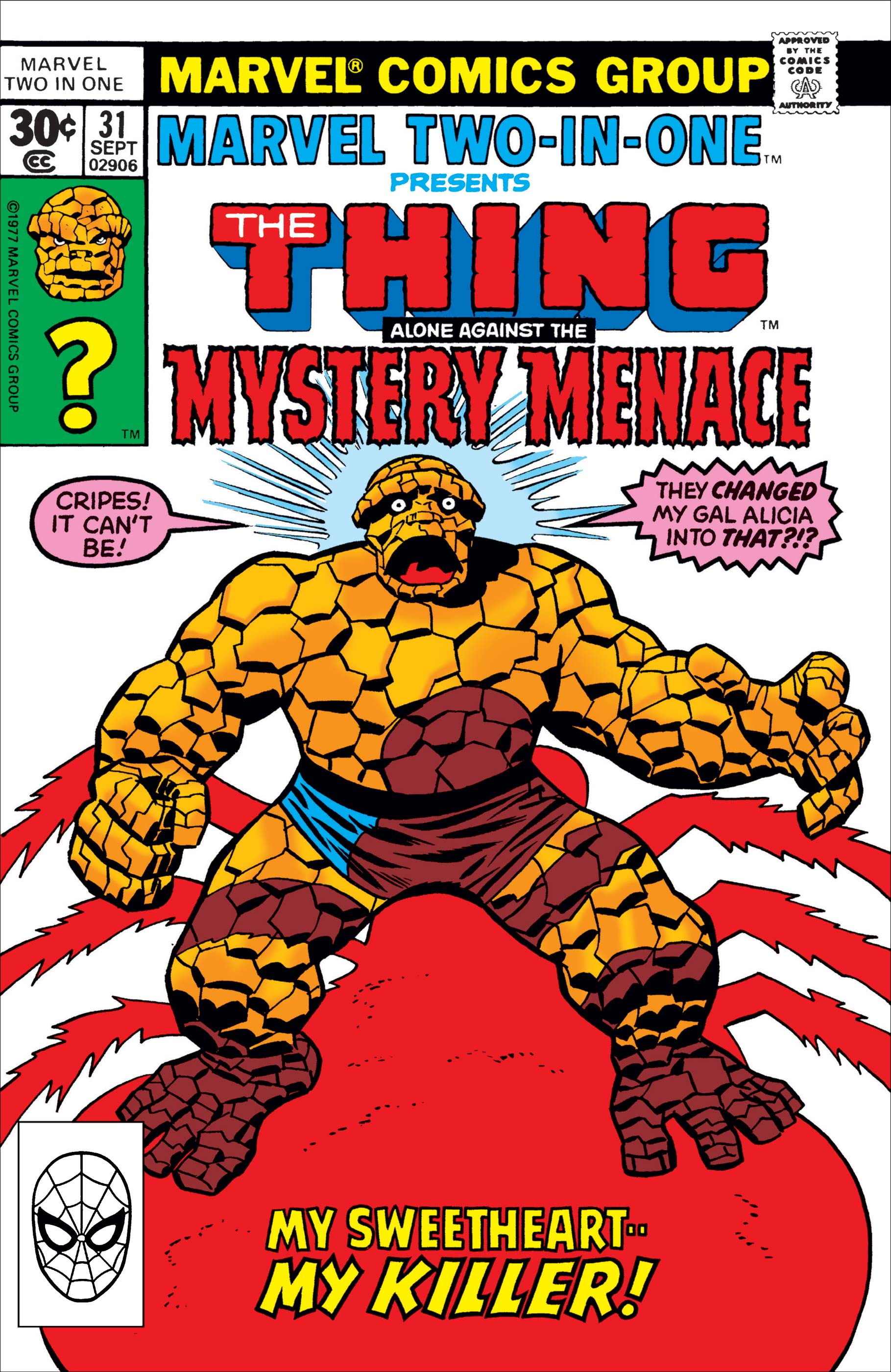 Marvel Two-in-One (1974) #31