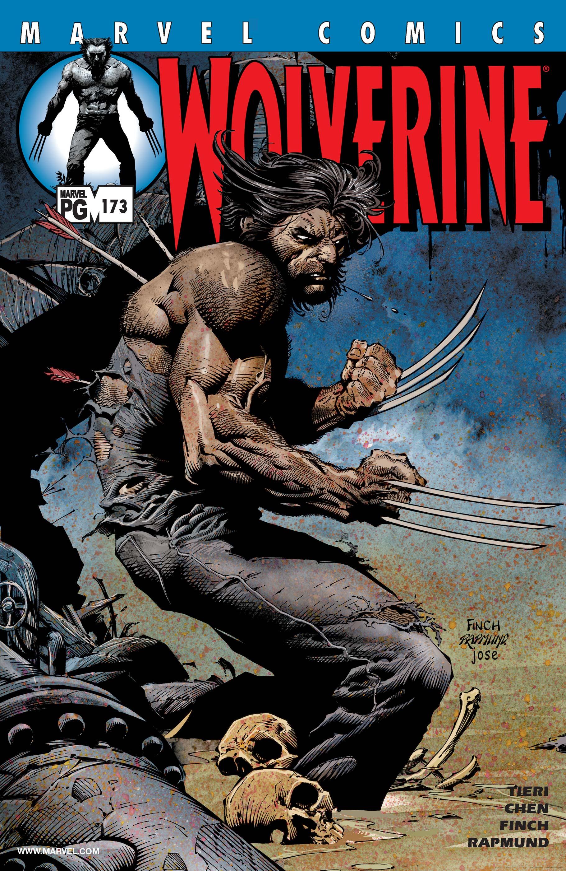 Wolverine (1988) #173