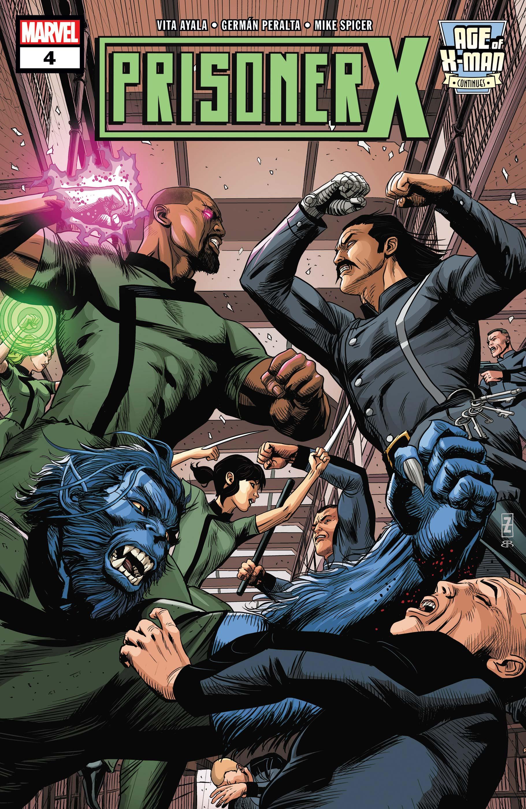 Age of X-Man: Prisoner X (2019) #4