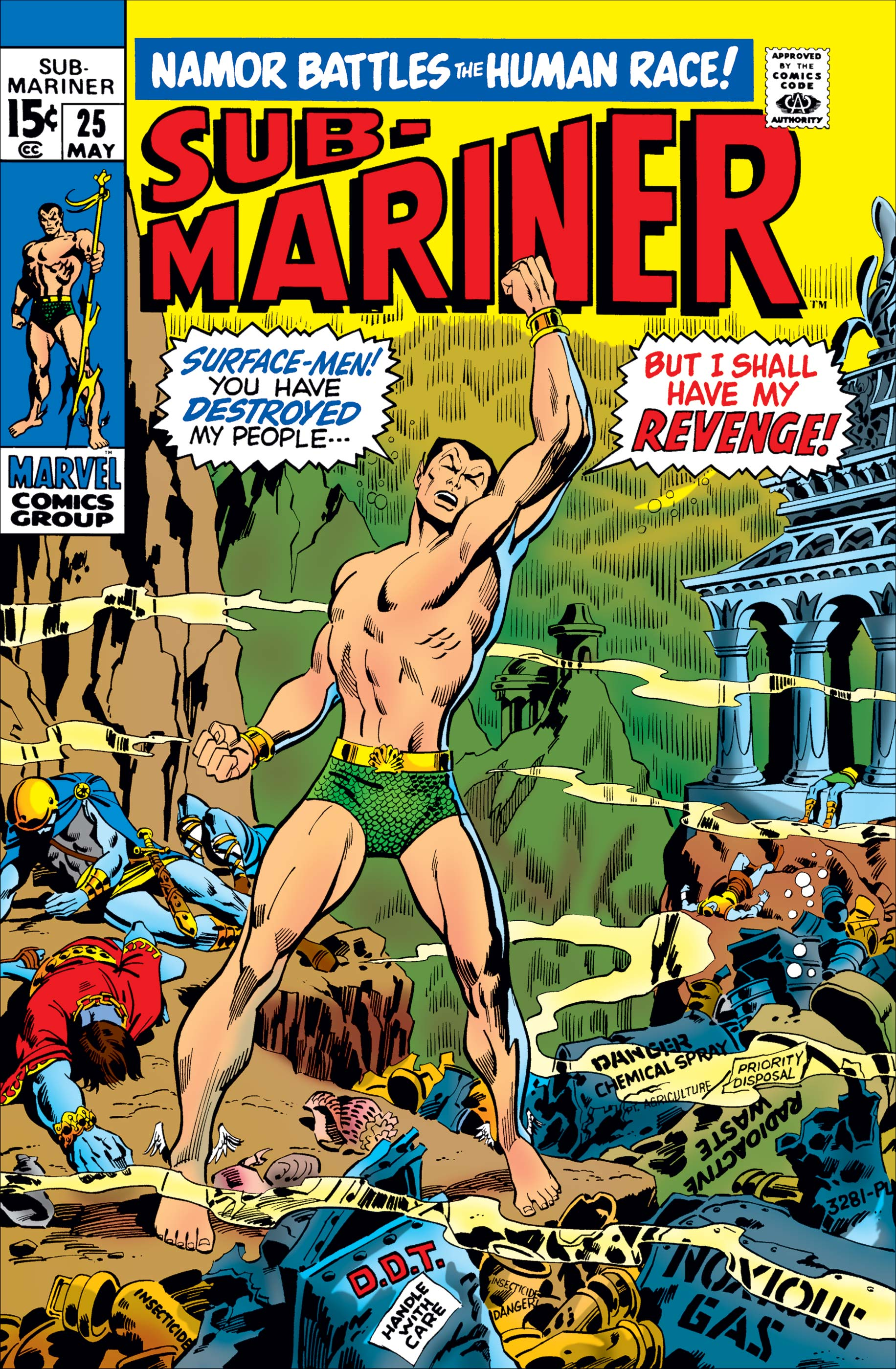 Sub-Mariner (1968) #25