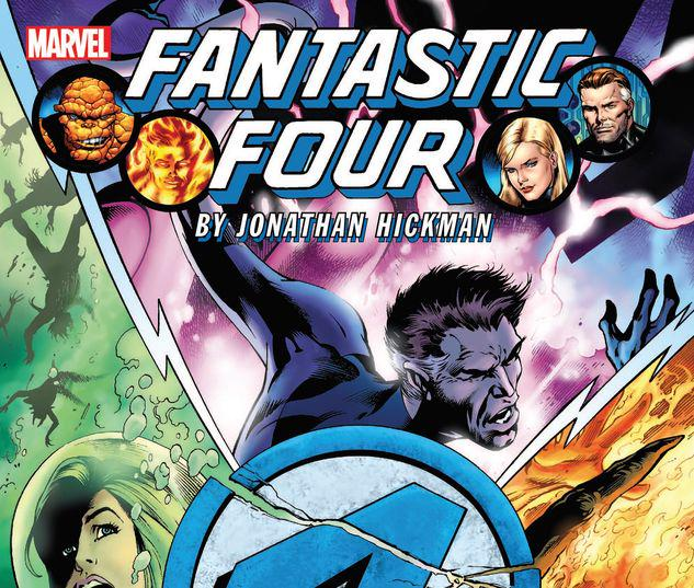 FANTASTIC FOUR BY JONATHAN HICKMAN: THE COMPLETE COLLECTION VOL. 2 TPB #0