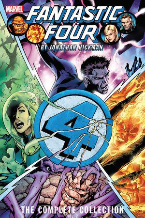 Fantastic Four By Jonathan Hickman: The Complete Collection Vol. 2 (Trade Paperback)