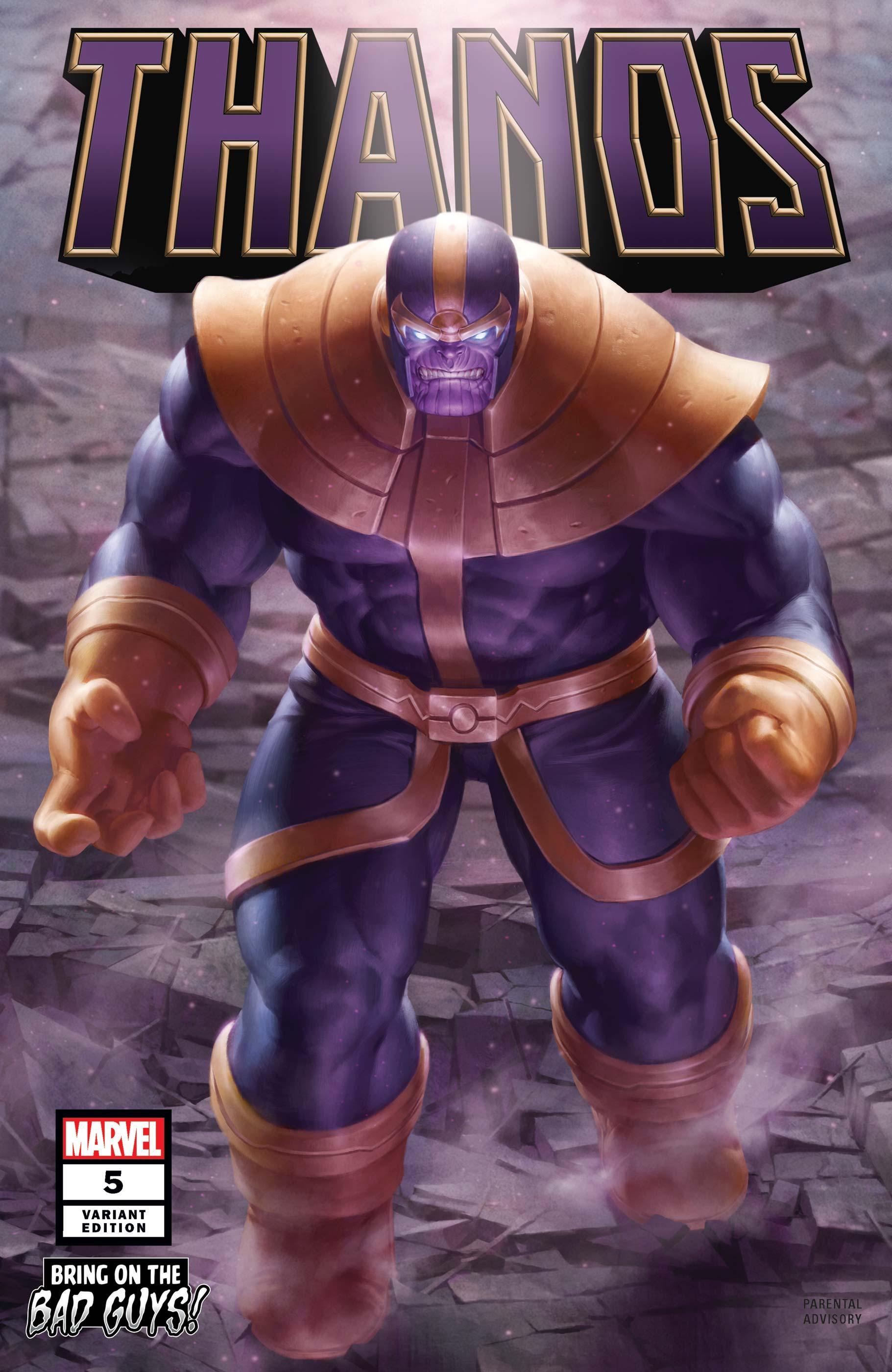 Thanos (2019) #5 (Variant)