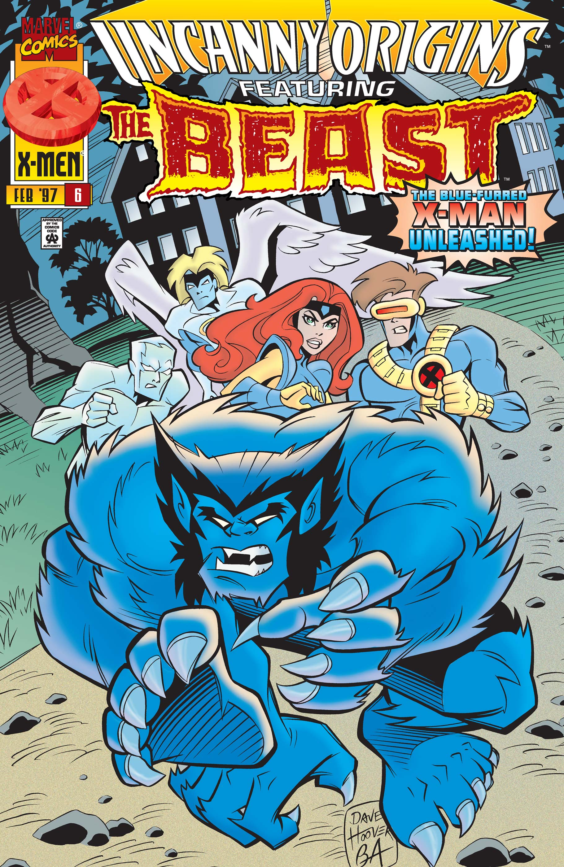 Uncanny Origins (1996) #6