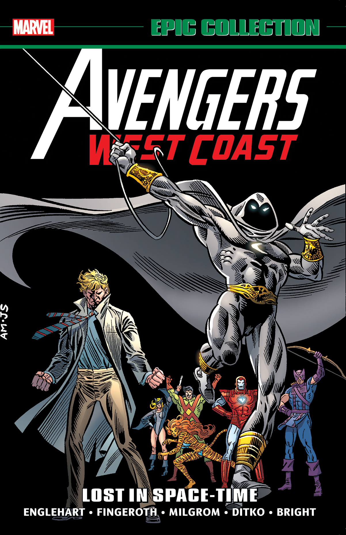 Avengers West Coast Epic Collection: Lost In Space-Time (Trade Paperback)