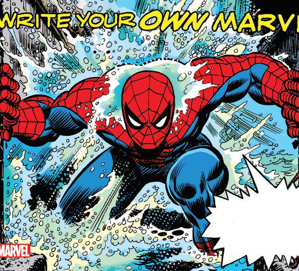 WRITE YOUR OWN MARVEL TPB #1